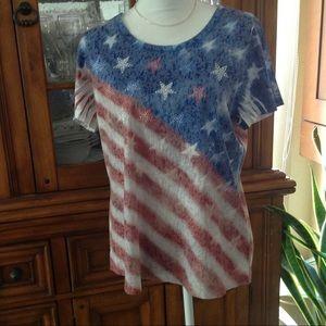 G Collection flag shirt